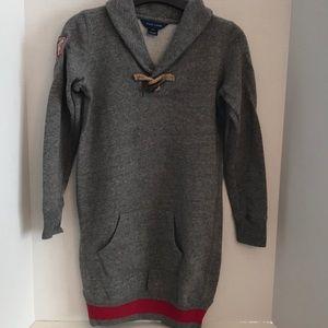 ❄ Ralph Lauren girls sweatshirt dress